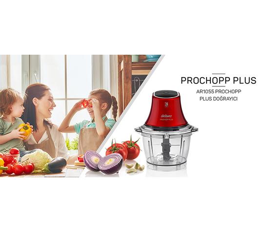 Kırmızı Arzum Prochopp Plus Doğrayıcı