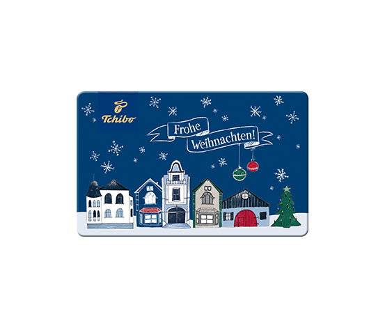 Geschenkkarte Frohe Weihnachten