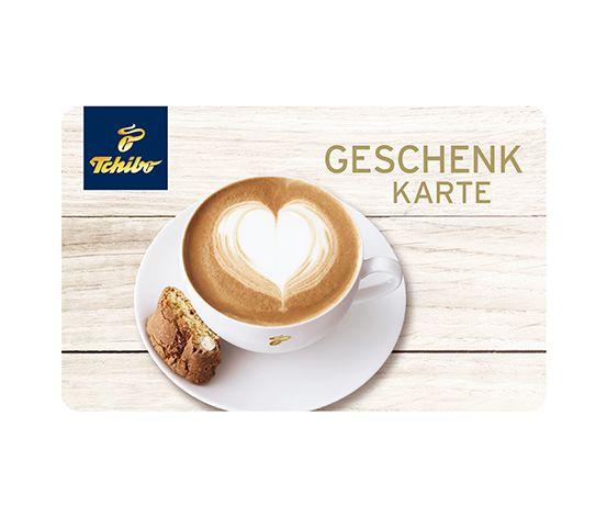 E-Mail Geschenkkarte Kaffeebohne