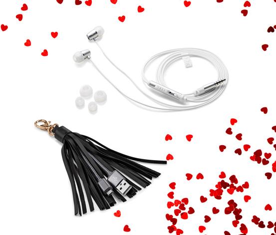 USB Şarj Kablosu ve Kulaklık Seti