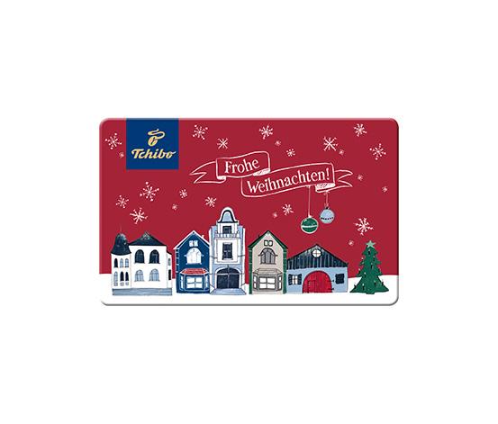 E-Mail Geschenkkarte Frohe Weihnachten