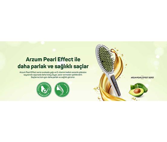 Arzum Süperstar Pearl Effect Saç Düzleştirici Fırça