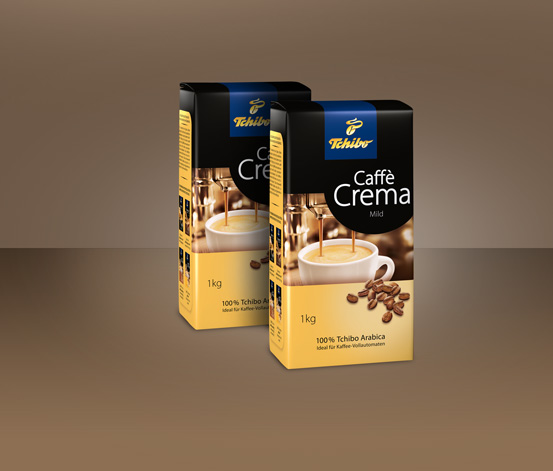 2 kg Caffè Crema Mild - Ganze Bohne