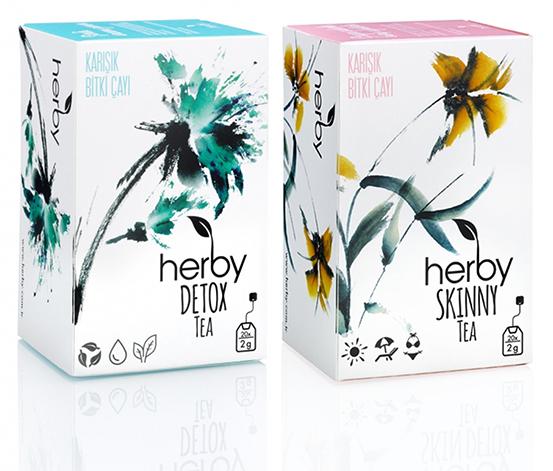 Herby Detox Pack Tea Bitki Çayı, 2li