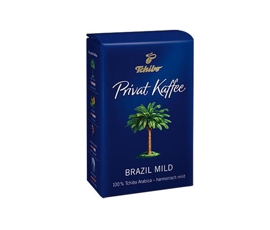 Privat Kaffee Brazil Mild Çekirdek Kahve 500g