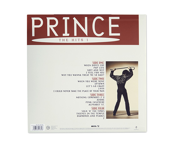 Doppel-LP »Prince – The Hits 1«