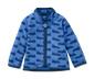 Niebieska polarowa bluza dziecięca z nadrukiem