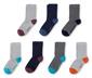 7 paires de chaussettes