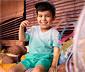 2 gyerek póló szettben, színátmenetes
