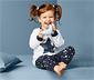 Piżama dziecięca z długim rękawem