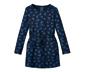Sukienka dresowa z kontrastującym motywem serca