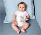 5 kisgyerek rövid ujjú body szettben, kék/fehér