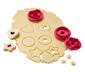 Foremki do ciasteczek z marmoladą, 3 sztuki