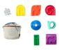 Gra zręcznościowa mini parkur z torbą do przenoszenia