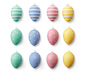 Velikonoční vajíčka, 12 ks