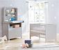 Pinolino Kinderbett »Liv«, inkl. Umbauseiten, grau