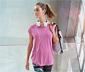 Kırçıllı Leylak Rengi Dryactive Plus Spor Tişört