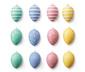 Veľkonočné vajíčka, 12 ks