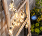 Guirlande lumineuse et solaire
