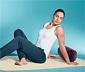 Uppblåsbar dyna för yoga och pilates