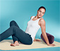 Dmuchany wałek do jogi i pilatesu