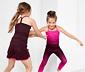 2 lányka vállpántos sport felső szettben