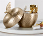 Dekoracyjna puszka w kształcie jabłka