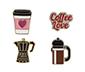 Kahve Aşkı Rozet
