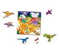 Tekrar Kullanılabilir Çıkartma Kitabı Dinozorlar