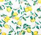 Renforcé ágynemű, citromos, egyszemélyes