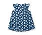 Mavi Organik Pamuklu Elbise
