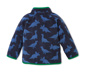 Rozpinana dziecięca bluza z mikropolaru z nadrukiem z dinozaurami