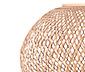Lampa stojąca LED »Trójnóg« z plecionką bambusową