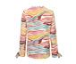 Női tunikablúz, zebramintás, színes