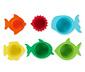 Plastikowe foremki do zabawy wodą i piaskiem, 6 sztuk