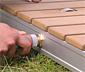 Breuer®-Outdoor-Bodendusche »Fontana«