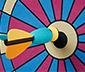 Aufblasbares XL-Dartspiel