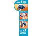 tesa® Powerstrips Askı Mini Oval Kendinden Yapışkanlı, Çıkarılabilir, krom