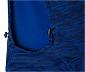 Férfi termo futófelső kapucnival, kék