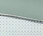 Vendbart perkalsengetøj; pude 80 x 80 cm og dyne 135 x 200 cm