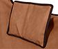 Összecsukható lounge szék, barna