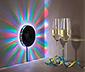 LED-es parti égősorkerék, zene által vezérelt