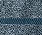 Melírované ručníky, 2 ks, modré
