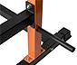 SportPlus-Power-Cage-Trainings-Rack »SP-HG-020«, inkl. Langhantelstange und 38,5-kg-Hantelscheiben-Set