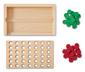 »4 in einer Reihe«-Spiel aus Holz