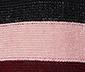 Pletený svetr s barevnými pruhy