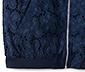 Bawełniana bluza z ażurowym haftem w kwiaty