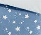 Vendbart børnesengetøj; pude 80 x 80 cm og dyne 135 x 200 cm
