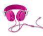 Stereosluchátka, růžová