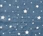 Dokuma Şal, Beyaz Yıldızlı Mavi